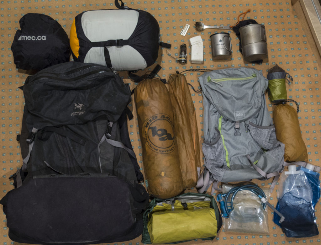 Backpacking Gear.