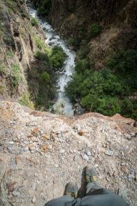A long way down to the river -Ninong
