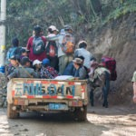 Road mantinence crews fixing the road from Xidang to Yubeng
