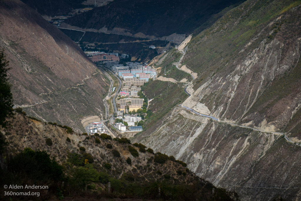 Daqin as seen from the Feilai Monastery