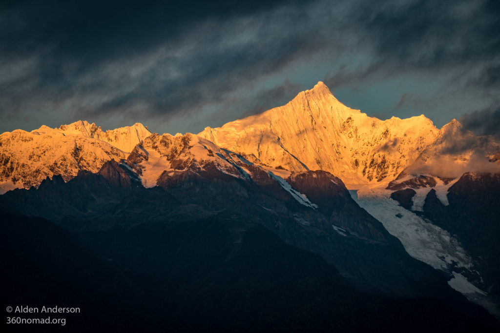 Meili Snow Mountains at Sunrise 01