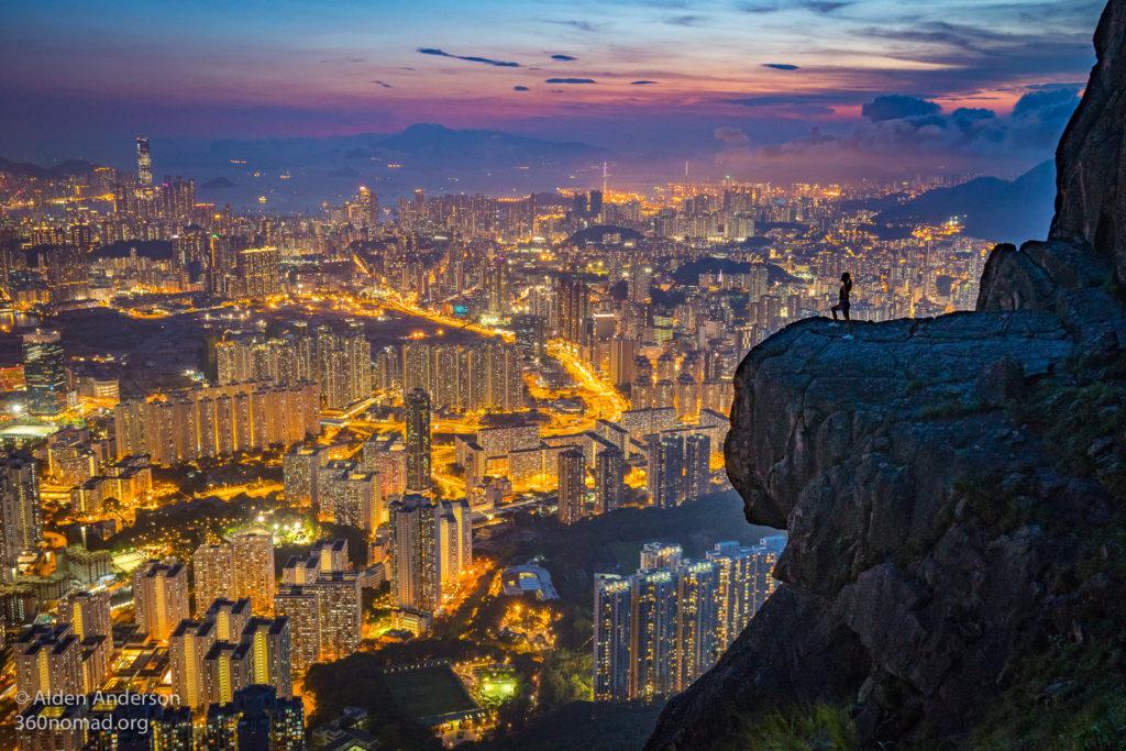 Hong Kong from Kowloon Peak