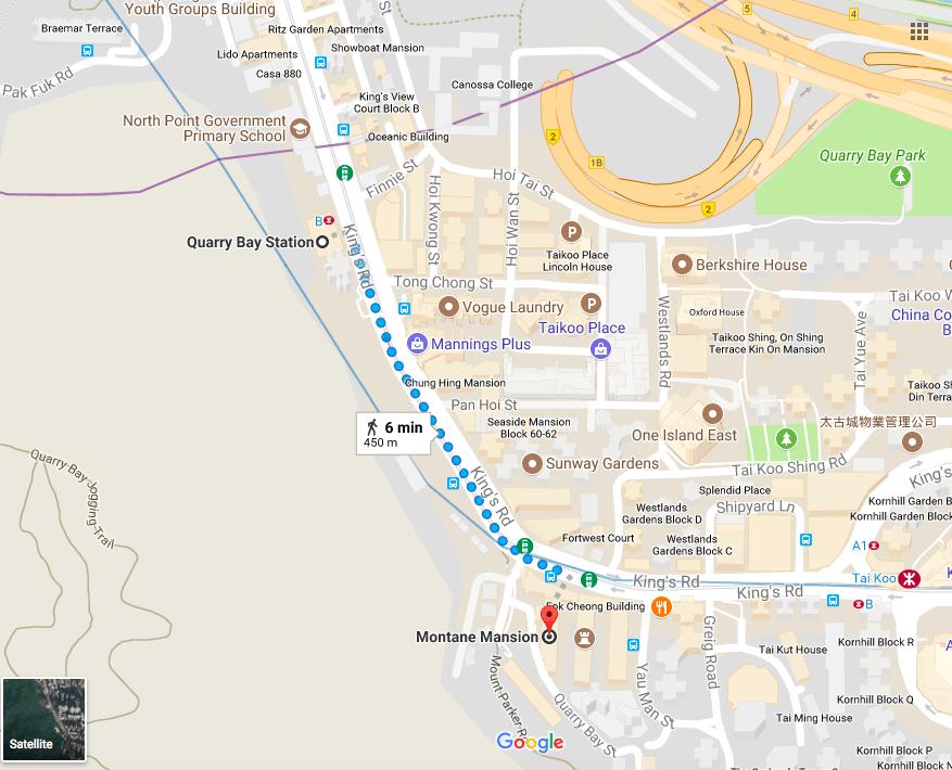 Monster Building Hong Kong Google Map