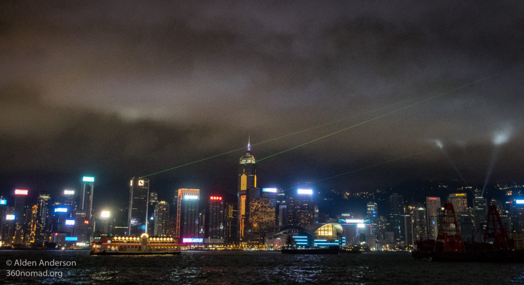 Victoria Harbour Symphony of Lights