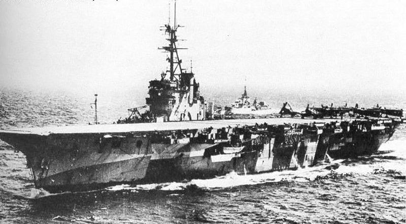 HMS Vengeance in 1944