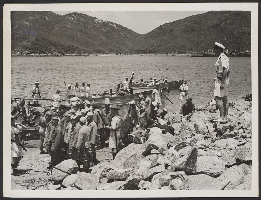 Kamikaze Boats and surrendering Japanese Soldiers. Thursday, August 30, 1945