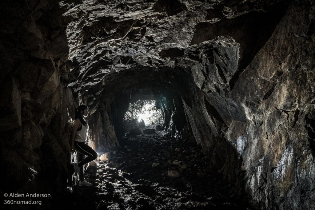 Inside Kamikaze tunnel 3