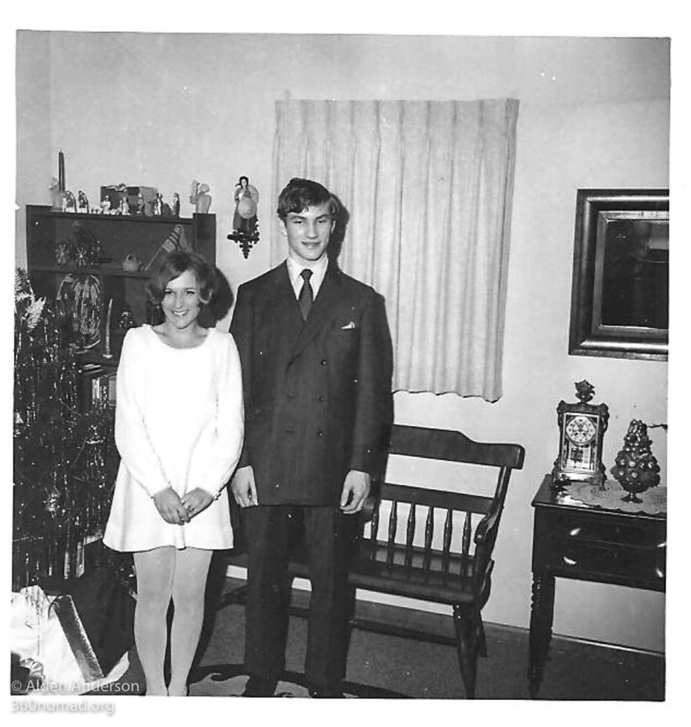 My Mom at prom in 1969