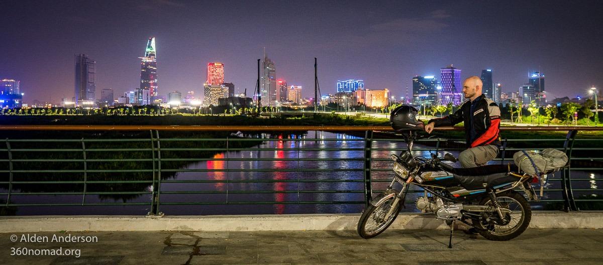 The new Ho Chi Minh City Skyline