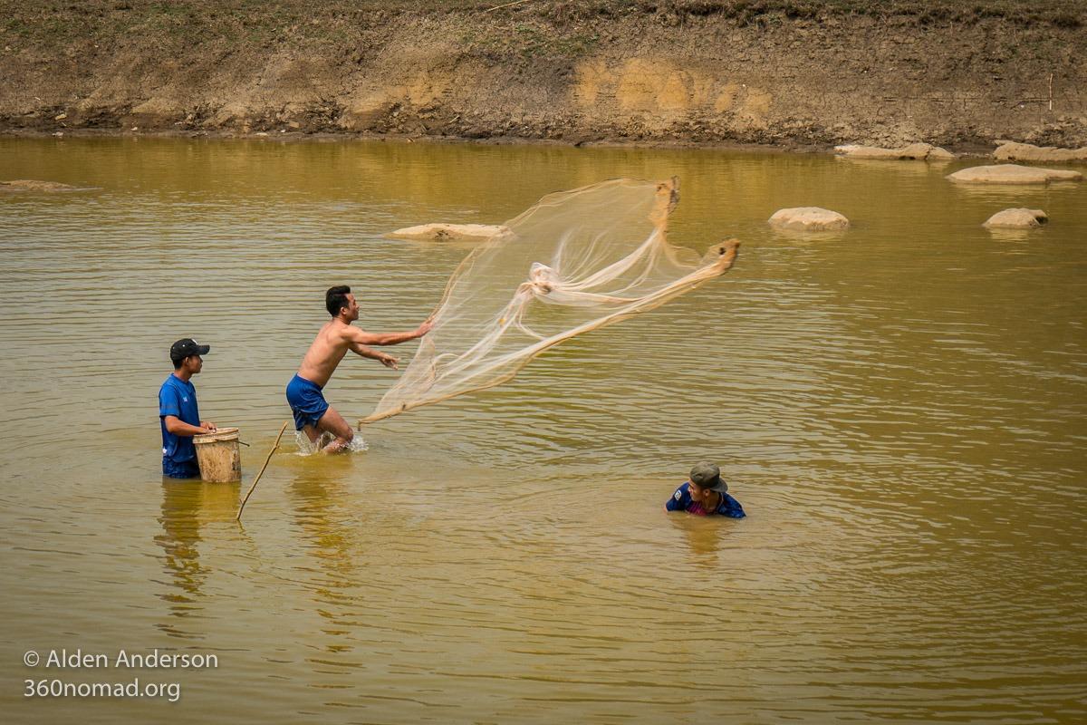 Fisherman near Xiang Liap