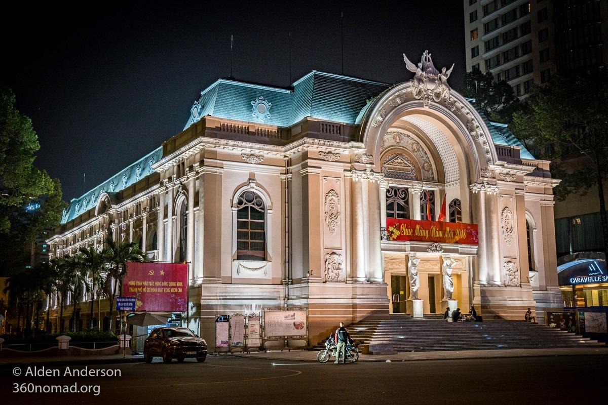 Saigon Opera House - Ho Chi Minh City Municipal Theatre