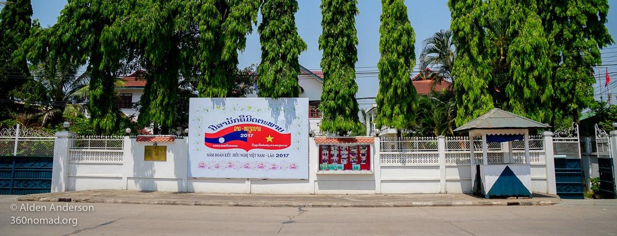Vietnamese Consulate, Savannakhet, Laos