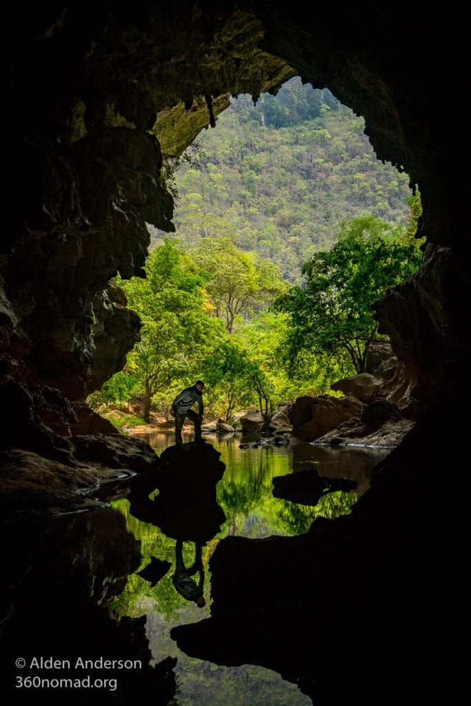 Xieng Liap Cave Thakhek Loop