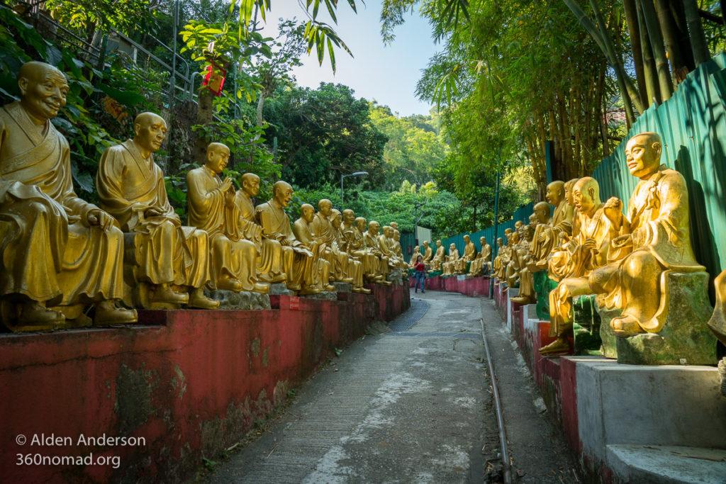 Path to the 10,000 Buddhas Monastery