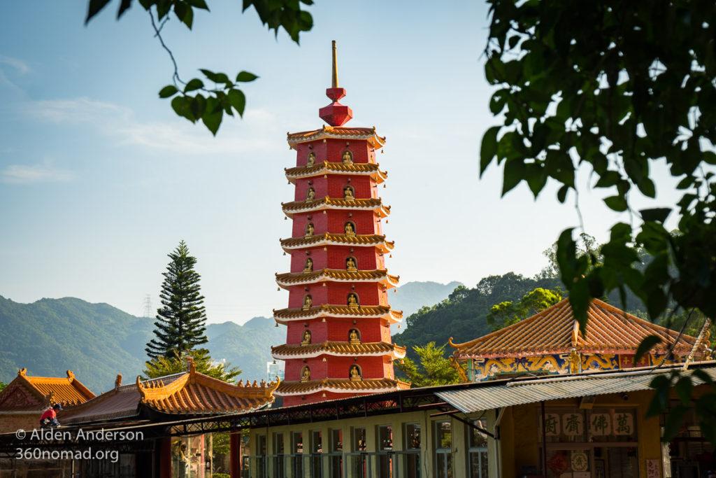10000 buddhas Pagoda