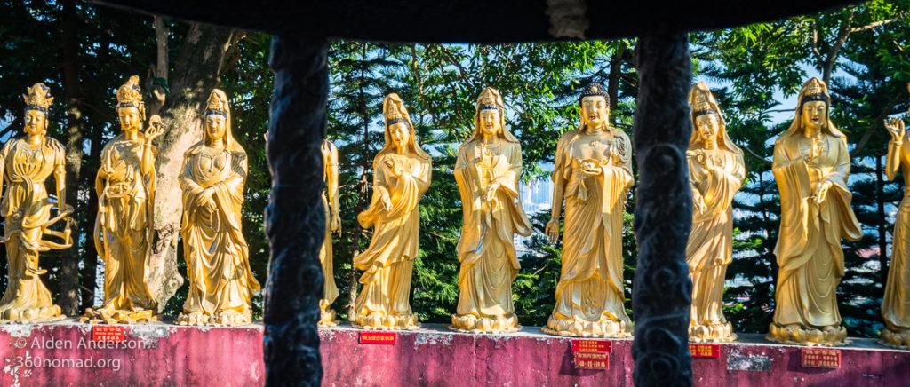 Buddhist Women Statues