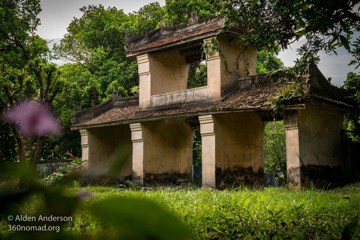 Ancient Gate inside the Hue Citadel