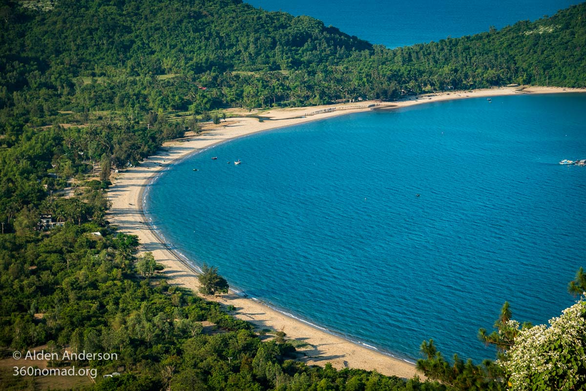 Danang's beautiful beaches