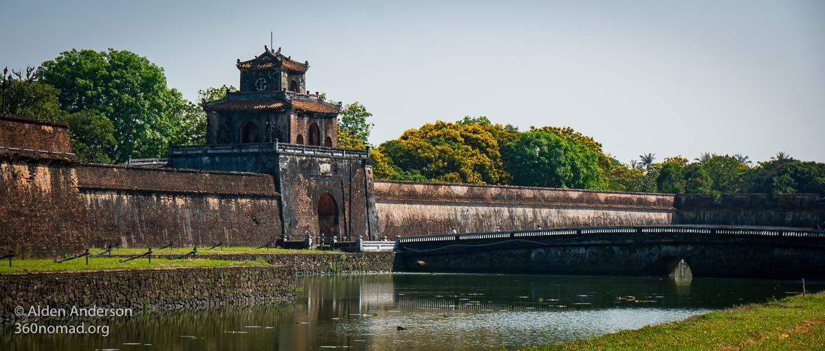 Hue Citadel Moat and Gate