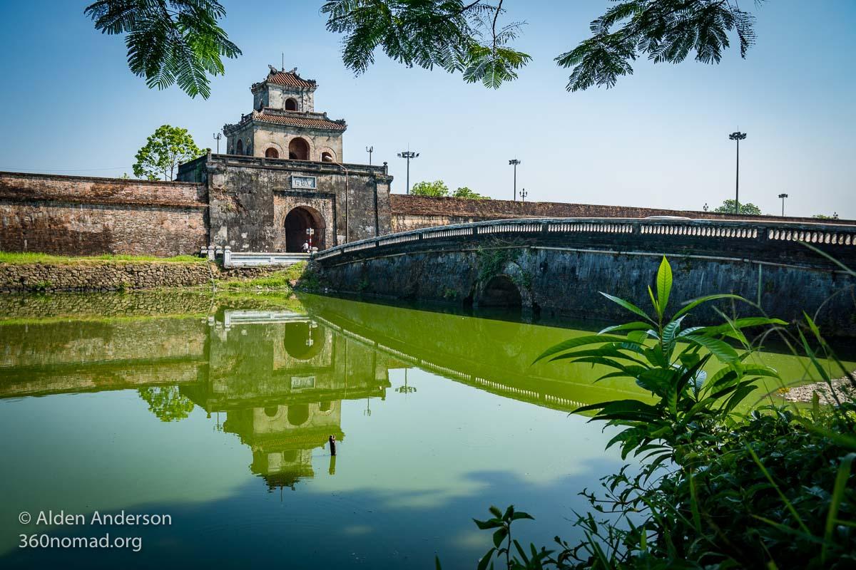 Quang Duc Gate, Hue Citadel