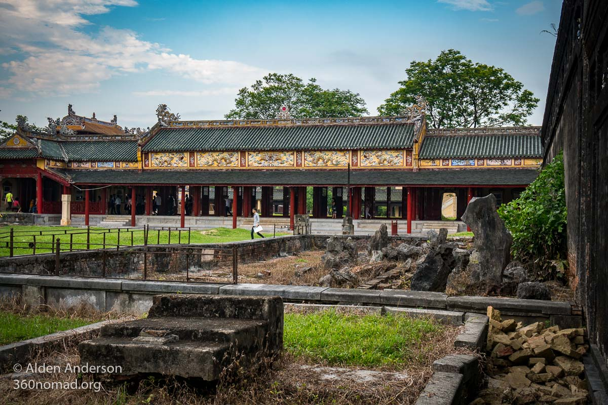 Rubble and Reconstruction, Citadel Hue