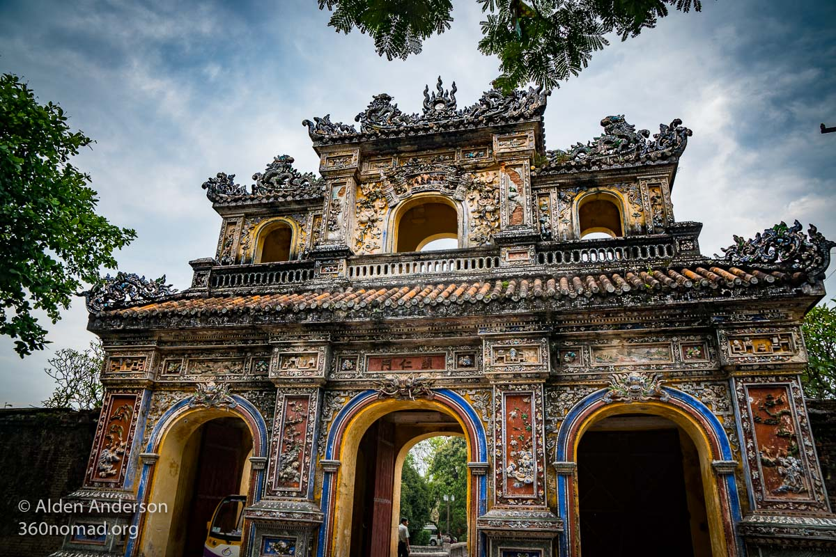 Hue Hien Nhon Gate, Imperial City