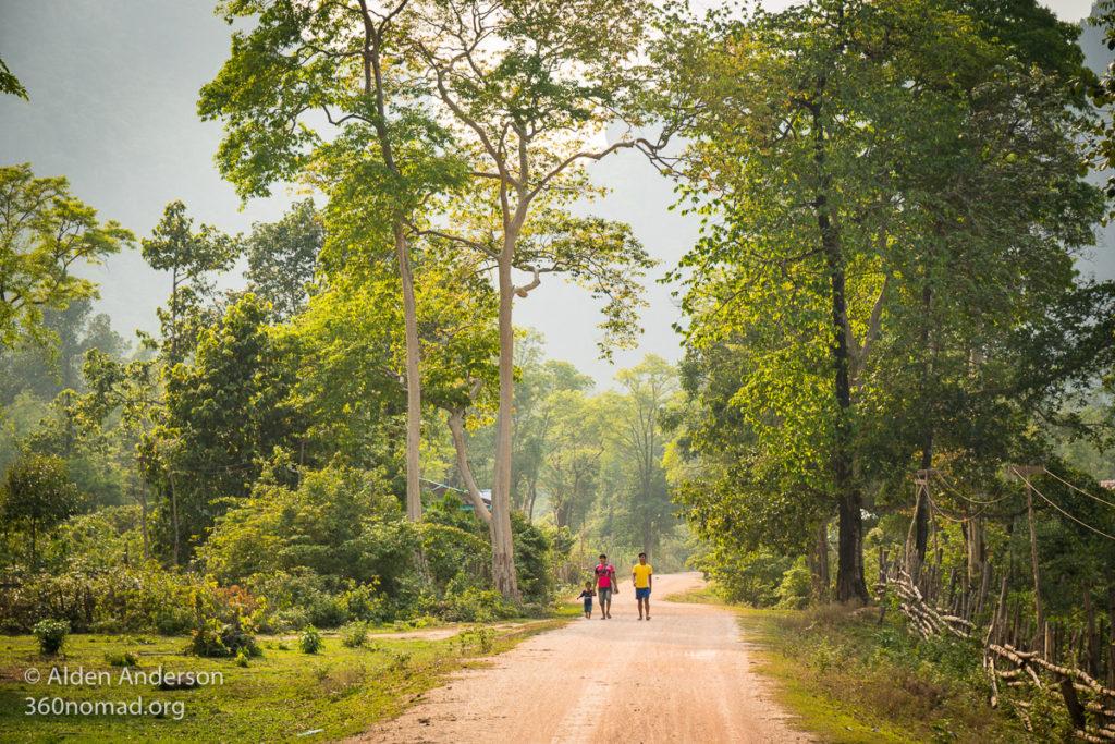 Ban Natane and surrounding villages