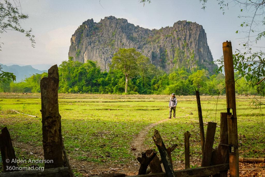 Around Ban Natane, Kong Lor Cave