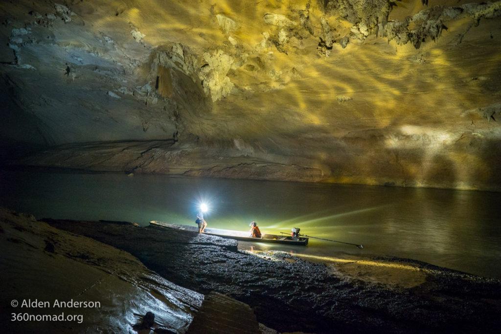 Inside Kong Lor Cave