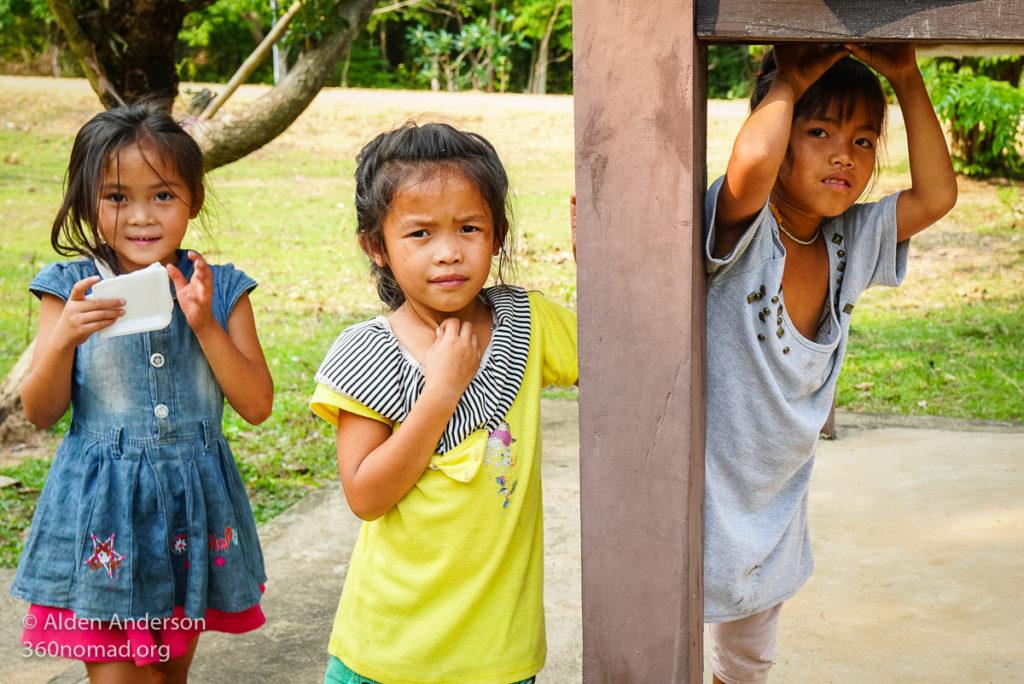 Local Laos Children