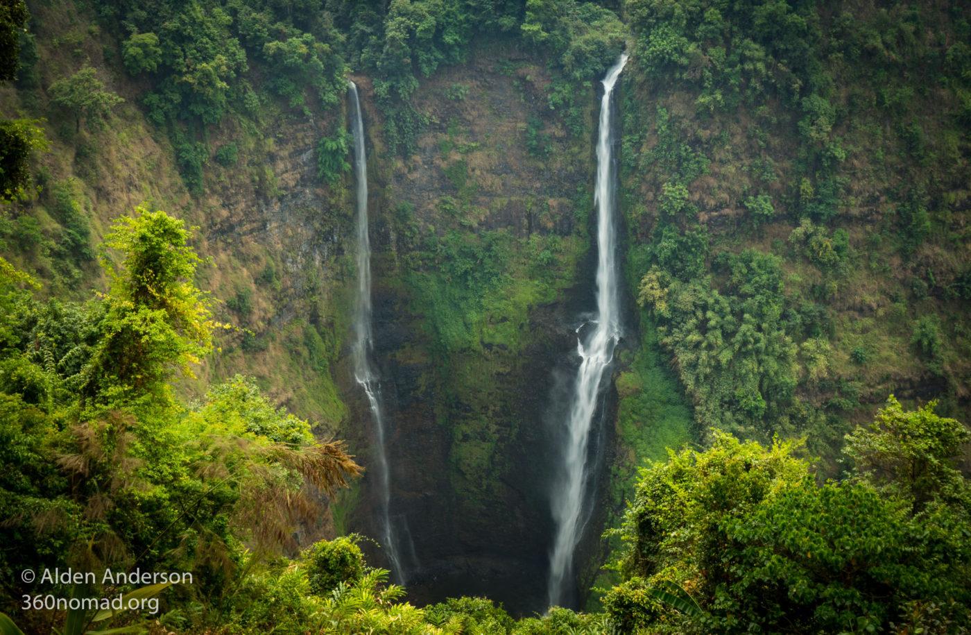Tad Fane Waterfalls - Pakse Loop