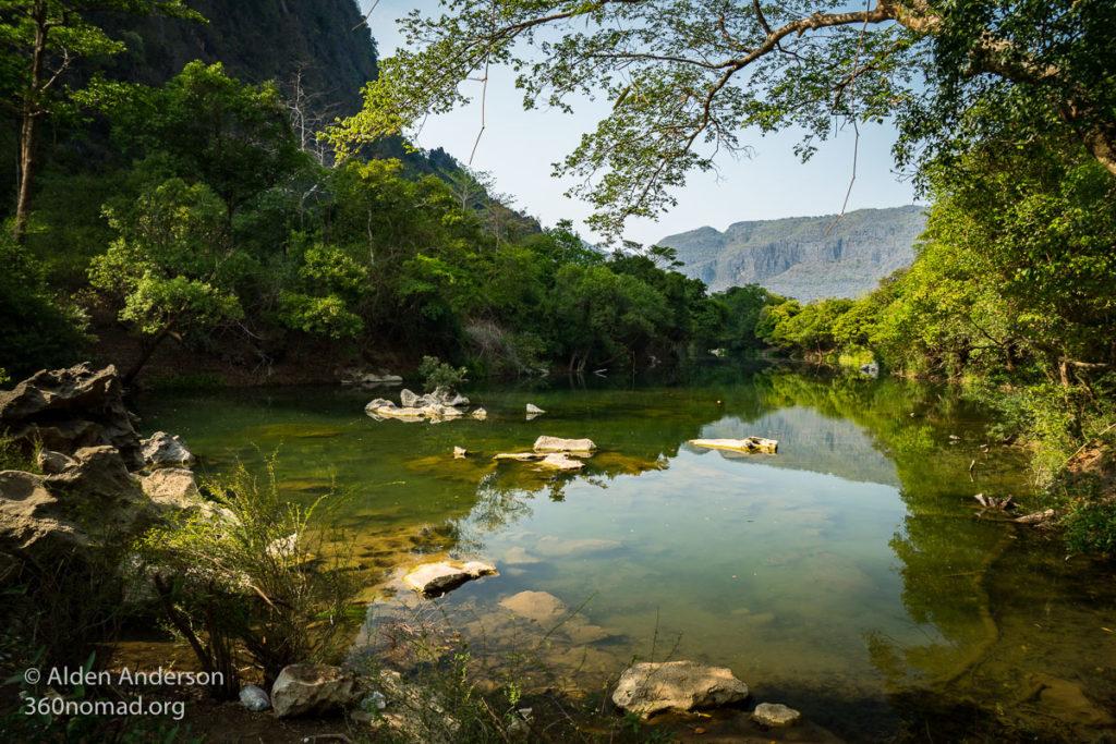 Tha Falang in Dry Season