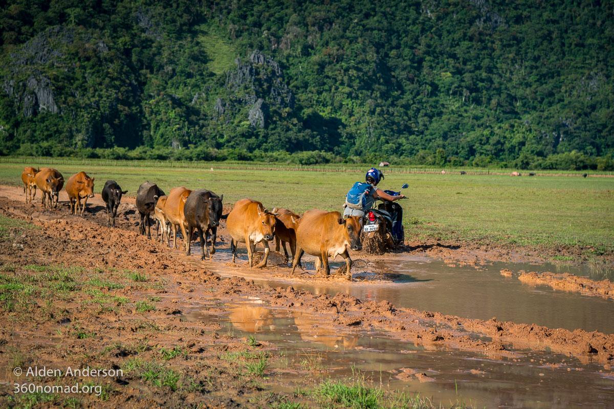 Rainy season on the Thakhek Loop