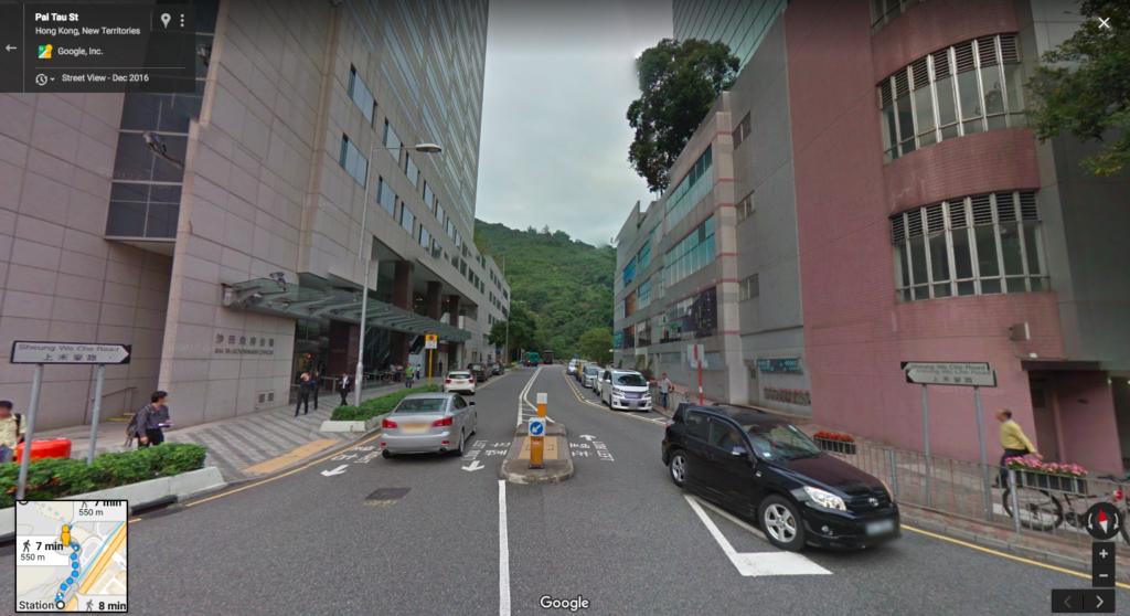 Walk down Sheung Wo Che Road
