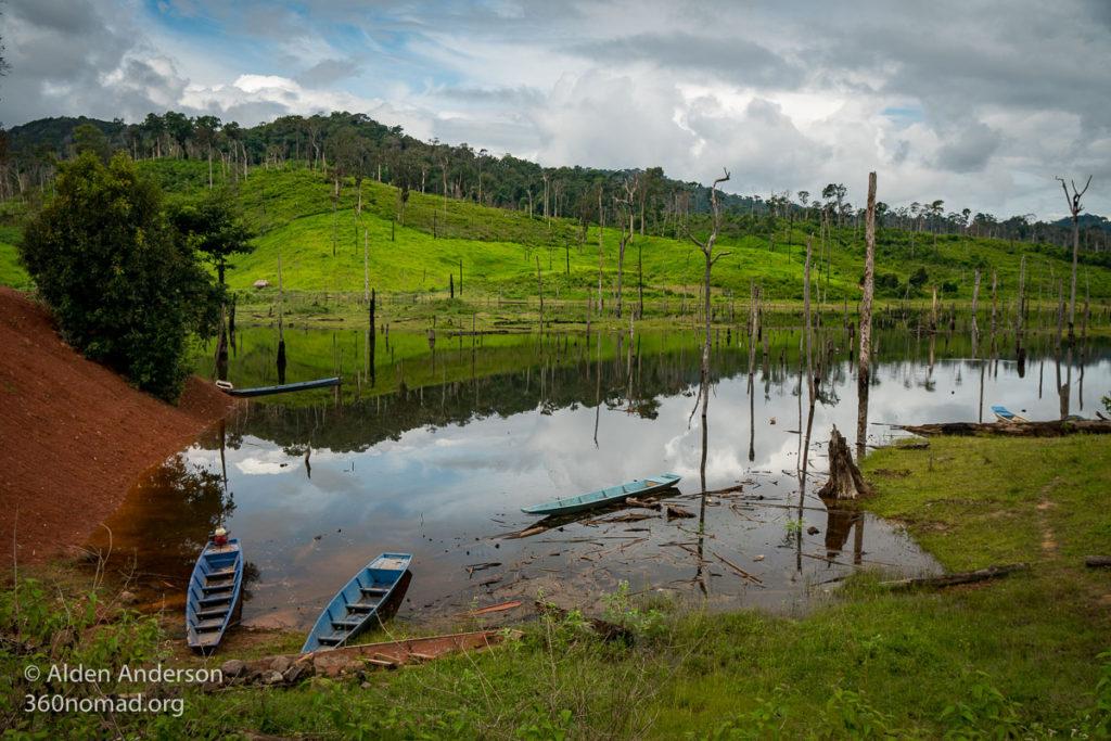 Boats on the Nakai Plateau