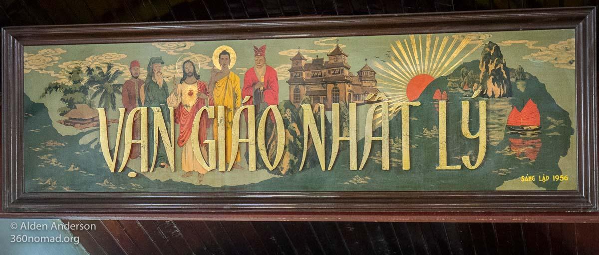 Cao Dai Temple Prophets