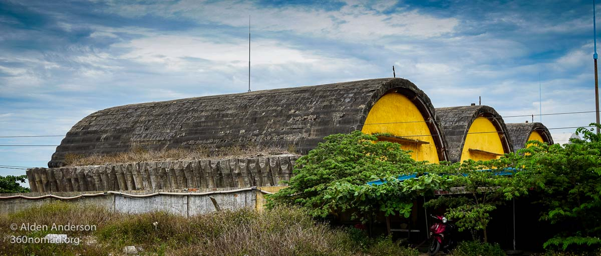 Da Nang Abandoned US Airbase Hangar