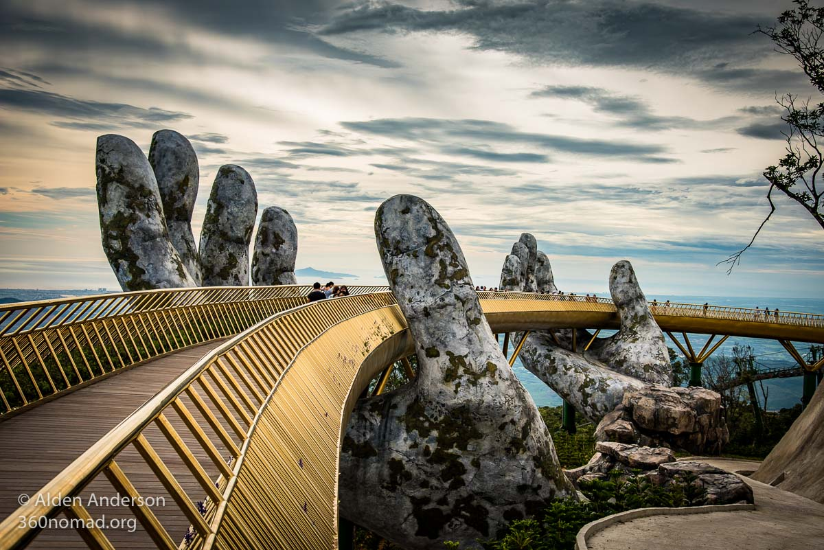 The Hands of God , Vietnam's Golden Bridge