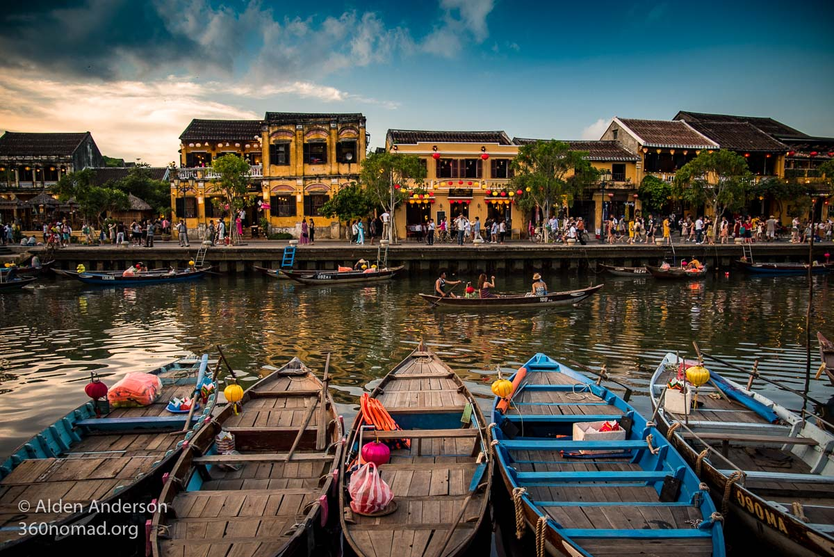 Hoi An Ancient Town, Thu Bon River