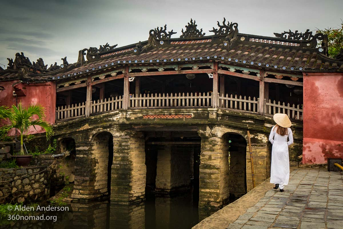 Japanese Covered Bridge, Hoi An Old Town