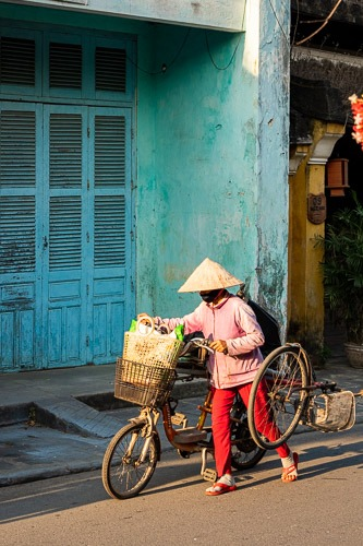 Colors of Hoi An 3 Cover blue Wall